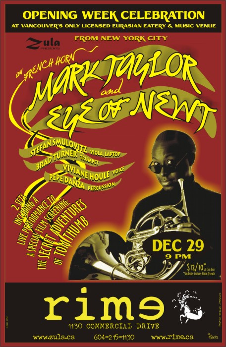 Mark Taylor & Eye of Newt -- 12.29.04 -- Rime