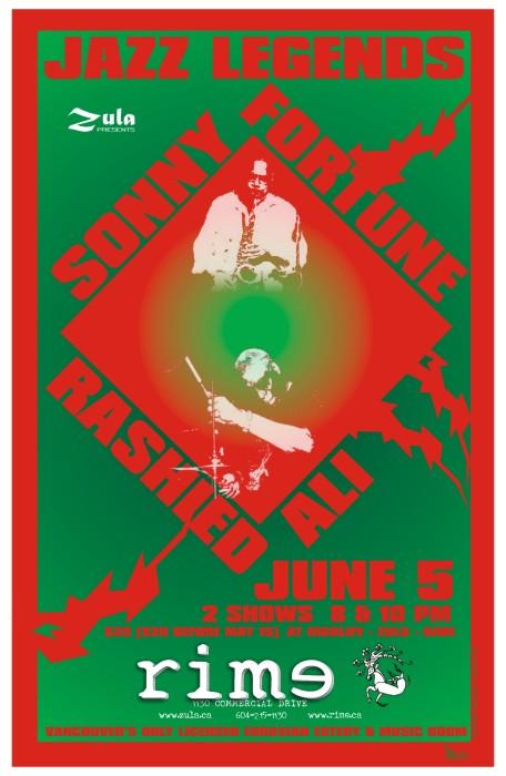 Rashied Ali & Sonny Fortune -- 6.5.05 -- Rime