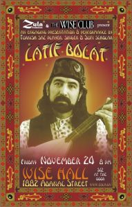 Latif Bolat -- 11.24.06 -- WISE Hall