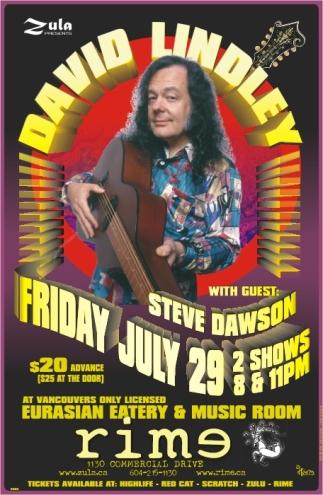 David Lindley plus Steve Dawson -- 7.29.05 -- Rime