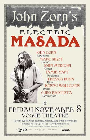 Electric Masada   11.08.2002   at Vogue Theatre