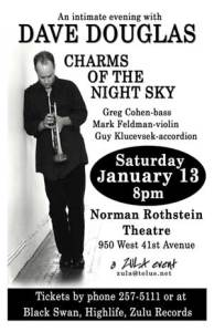 Dave Douglas' Charms of the Night Sky